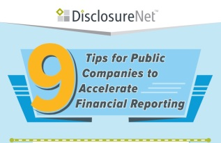 9 Tips for Public Companies to Accelerate Financial Reporting