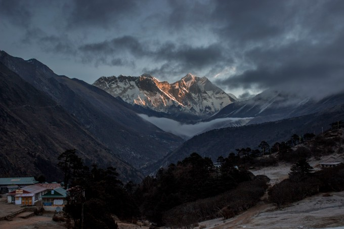 A Sunrise on Everest