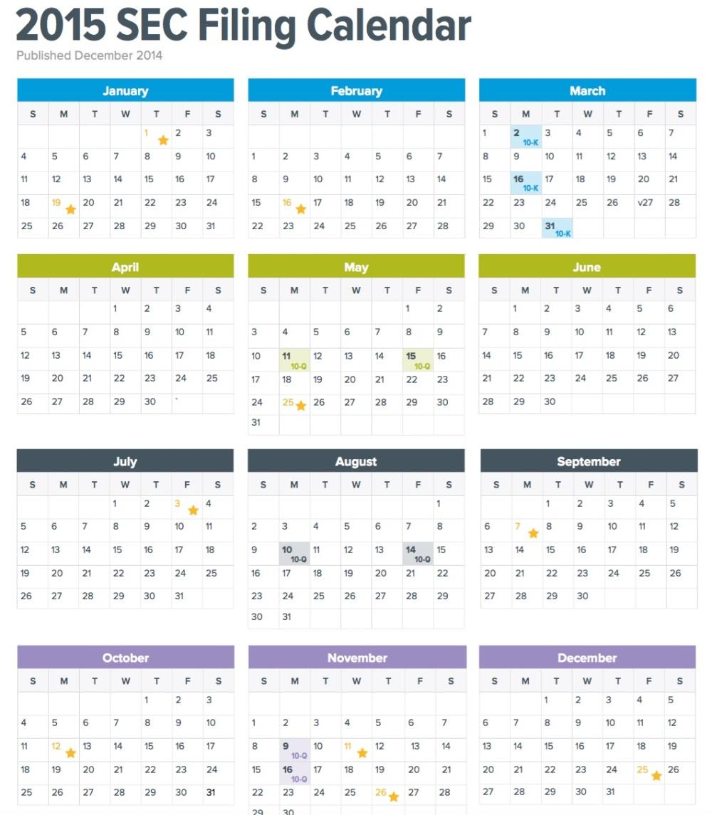 SEC Filing Calendar copy