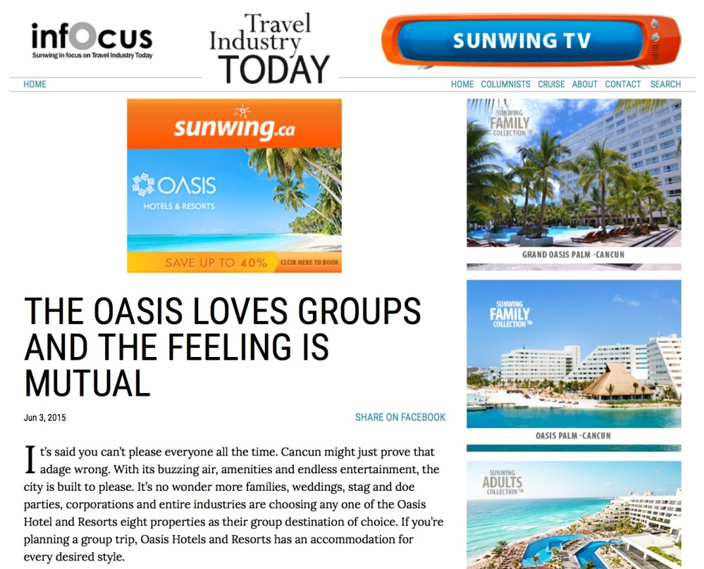 Oasis loves groups copy