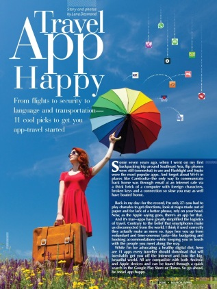 Travel App Happy